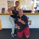Ondrej so svojou trénerkou Katkou Parajňákovou