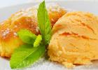 kiwano, sorbet, zmrzlina, ananás