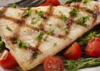 ryba, grill, grilovaná, ryba na grile, grilovaná ryba, zdravá ryba, platesa, večera, losos, rybka, zdravý obed, mňam