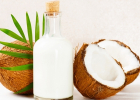 kokosové mlieko, recept, domáce, bez laktozy, bez lepku, ako si vyrobiť doma mlieko, zdravie, výživa, chudnutie, diéta