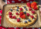 koláč, fit, cukráreň, fitstyl, chudnutie, zdravy recept, dieta, chudnutie, zdravie, mňam, leto, lahky dezert