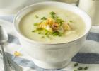 karfiol, polievka, kokos, krém, olivový olej, recept, obed, večera, teplé jedlo, strava, zdravá výživa, teplá večera, strava, chudnutie, štíhla línia, fit, fit štýl
