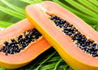 papaya, papája, ovocie, zdravie, chudnutie do plaviek, leto, redukcia hmotnosti, kalórie