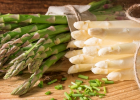 špargľa, biela, zelená, fialová, potraviny, strava, zelenina, výživa, pozitívne účinky