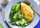 šalát, obed, mňam, ako pripraviť chutný šalát, mäso, kuracie, prsia, zdravo, diéta, chudnutie, jedlo, večera, fit, fitness, strava