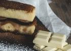 Cheesecake z bielej čokolády s ovocím