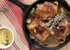 Citrónové kura so zemiakmi