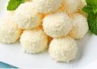 Kokosovo-citrónové RAW  guľky