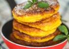 Tekvicové lievance s pomarančovou marmeládou