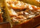 Zemiakový koláč s kozím syrom