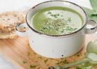 polievka z medvedieho cesnaku, jar, zdravá polievka, vitamíny