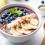 smoothie, ranajky, rýchle raňajky, ľahké raňajky, vitamíny, čučoriedky, banán, tip na rýchle raňajky, ovocie, vitamín C, jedlo, food, tip, nápad, miska, čo na raňajky