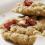 sušienky bez cukru, ovsené sušienky, brusnice, ovsené vločky, jablko