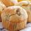 muffiny, muffin, banán, banánové muffiny, dezert, koláč, muffinky, recept, banány, mňam, celozrnné, zdravý koláč, zdravé sladkosti,