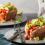 Plnené pečené batáty s avokádovou plnkou a lahodnou salsou