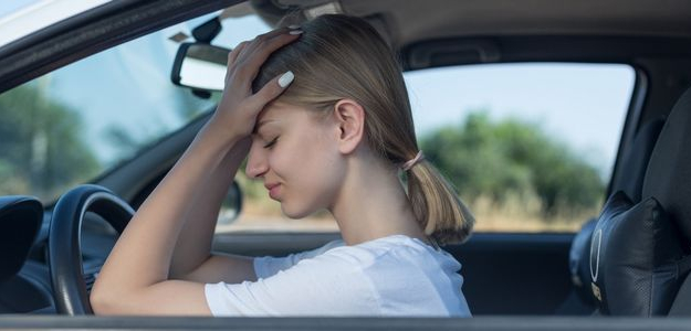 strach zo šoférovania, šofér začiatočník, kondičná jazda, ako prekonať strach zo šoférovania, nesmelý vodič, strach za volantom, stres za volantom, zlý vodič, žena za volantom, muž za volantom
