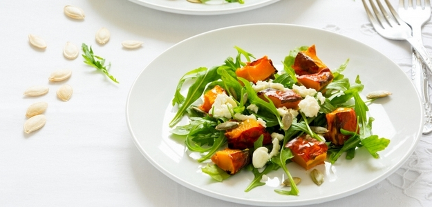 fit, šalat, tekvica, jedlo, strava, zdravie, diéta, chudnutie, fitastyl.sk, domáci recept, mňam, hokkaido,