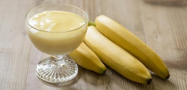 domáci puding, banánový, mňam, sladké, fit, diéta, chudnutie, zdravie, wellness, kondícia, fitastyl.sk, recept, príprava, ako uvariť puding