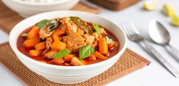 papaja, papaya, kuracie maso, obed, večera, jedlo, fit, chudnutie, recept, fit, fit štýl