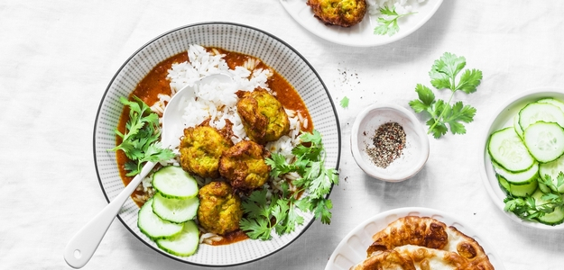 kofty, vegetarián, ryža, obed, večera, zdravé, zdravie, recept