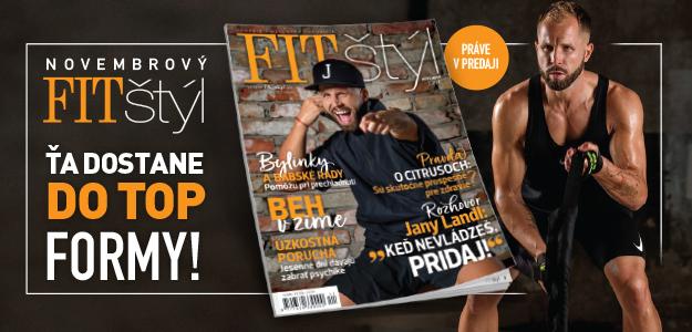 fit štýl, magazín, november, diéta, chudnutie, zravie, fitness, wellness, životný štýl, chudnem, strava, cvičenie, fitko, gym, žena, móda
