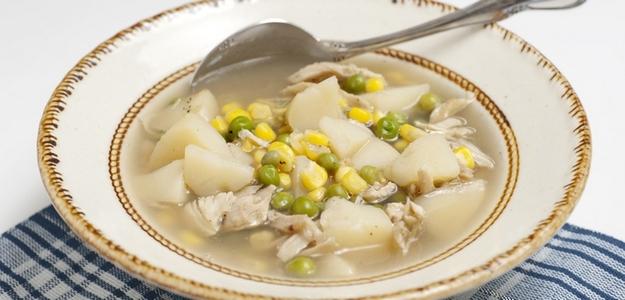 polievka, kuracia, vývar, domáca, kura, fit, diéta, chudnutie, zdravie