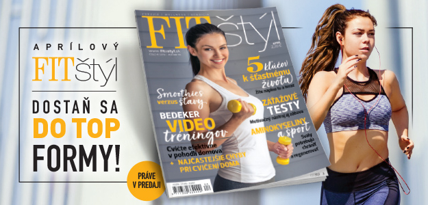 nové číslo fit štýl, apríl, matcha torta, recept, fit cukráreň, jarná únava, topinambur