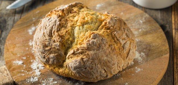 Írsky chlieb bez kvásku