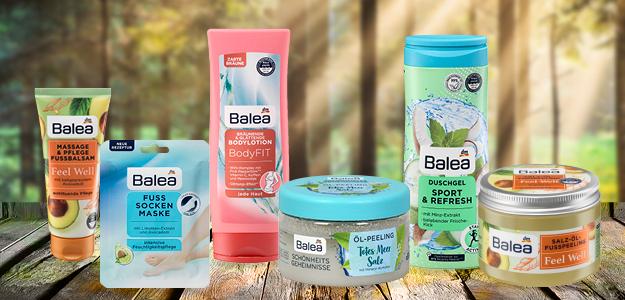 Súťažte s dm drogerie markt o balíček skvelých produktov zn. Balea