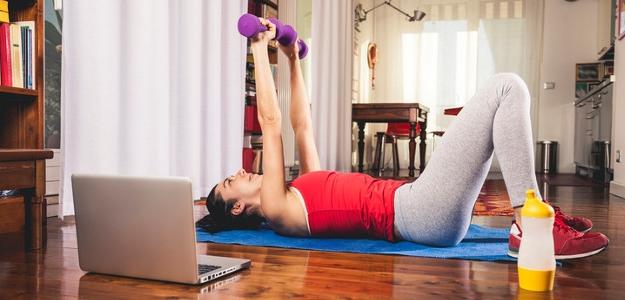 Ako správne cvičiť podľa videí doma?