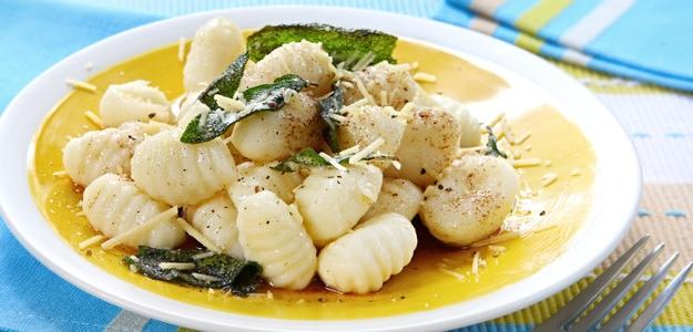 Gnocchi so šalviou a maslom