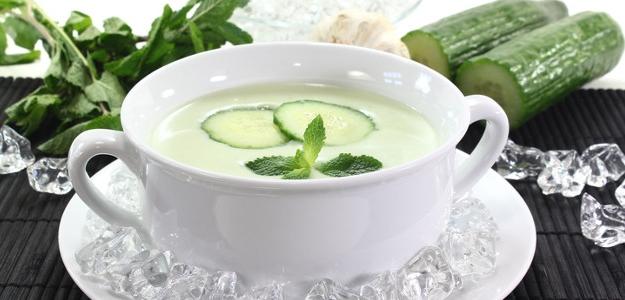 Studená uhorková polievka