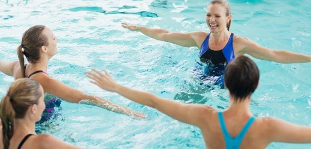 Cvičte vo vode! Rehabilitácia, aktívny pohyb a posilnenie v jednom.