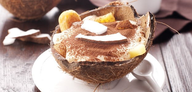 Kokosovo - ananásové tiramisu