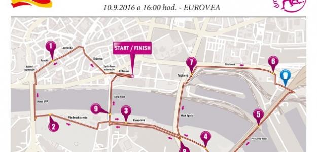 BLÍŽI SA NAJPÔVABNEJŠÍ  BEH NA SLOVENSKU (v Bratislave sa 10. septembra uskutoční jubilejný 5. ročník dm ženského behu)