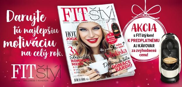 Zimné vydanie FIT štýlu už na vás čaká! Poteší, zahreje a ulahodí vašej vianočnej chuti