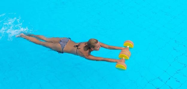 TIP na tréning vo vode a uvoľňovacia cvičebná zostava vo vode