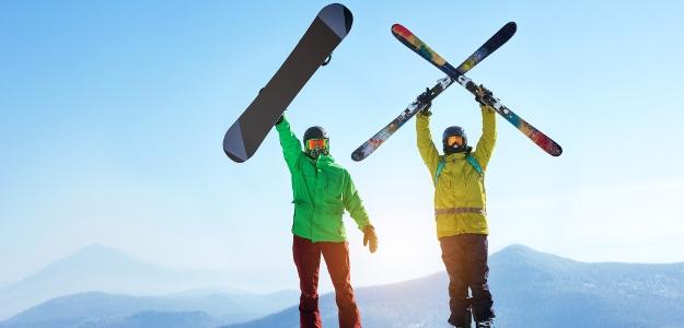 Lyže a snowboard: vynikajúci prostriedok na formovanie postavy, posilnenie imunity a kondície