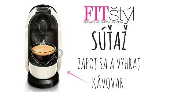 Pozor, SÚŤAŽ!!! Vyhrajte kávovar Cafissimo PURE!