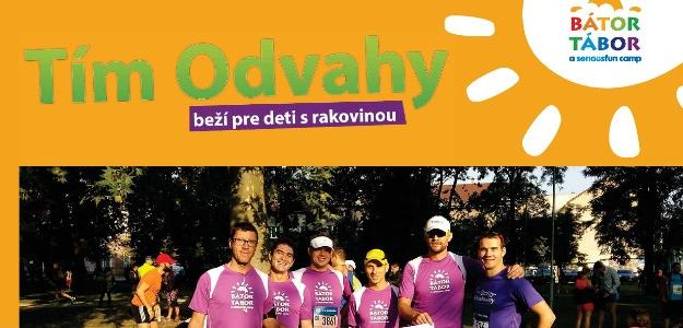 Tím odvahy beží pre dobrú vec! Pomôžte behom onkologicky chorým deťom.