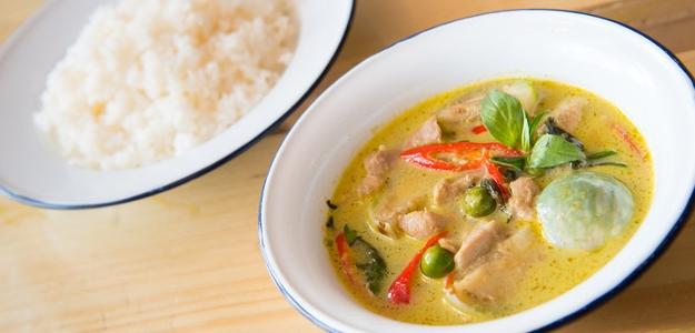 Thajské kuracie curry