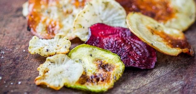 Zdravé zemiakové čipsy