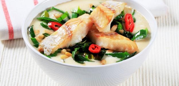 Rybacia krémová polievka so zeleninou