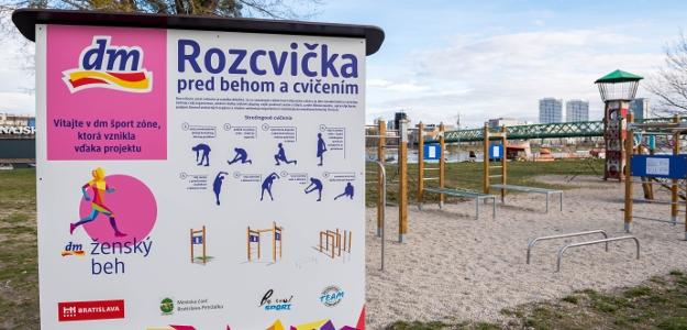 Slávnostné odovzdanie dm športovej zóny