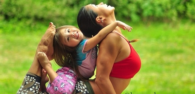 Fotogaléria: Cvičenie  s deťmi je zábavné