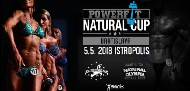 Strávte prvú májovú sobotu športom a kultom dokonalých tiel, prídite sa pozrieť a povzbudiť súťažiach na 3. ročník Powerfit Natural Cup v Bratislavskom Istropolise!