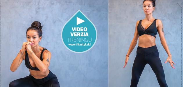 VIDEOTRÉNING: Chcete mať ZADOK ŠŤAVNATÝ ako broskyňa a NOHY ŠTÍHLE ako laň?
