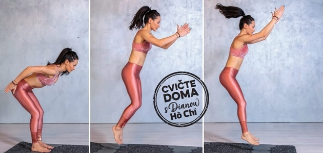 VIDEOTRÉNING s Dianou Hô Chí: Od dynamiky k STATIKE