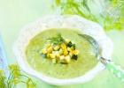 Cukinová polievka, krémová s kôprom